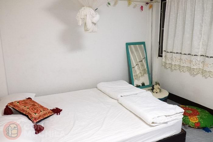 Nuestra simple habitación