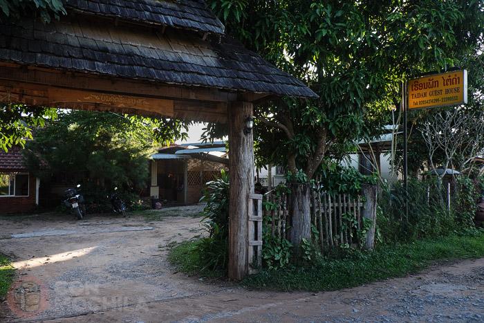 Entrada a Taidam guesthouse