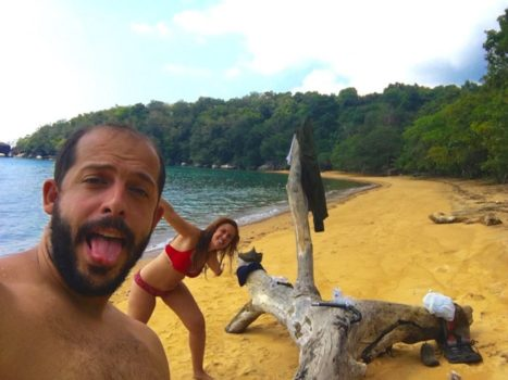 Monkey Beach en Pulau Tioman