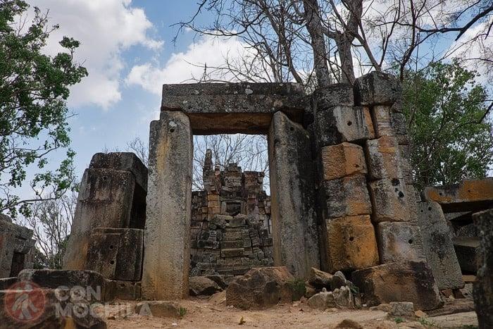 Las ruinas de Wat Ek Phnom