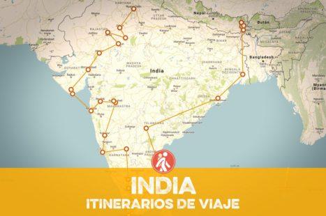 Itinerarios de viaje a INDIA