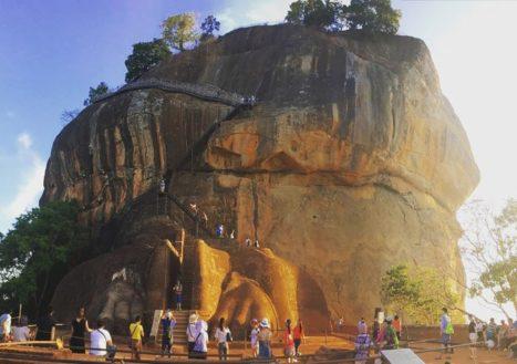 Roca de Sigiriya, emblema icónico de Sri Lanka