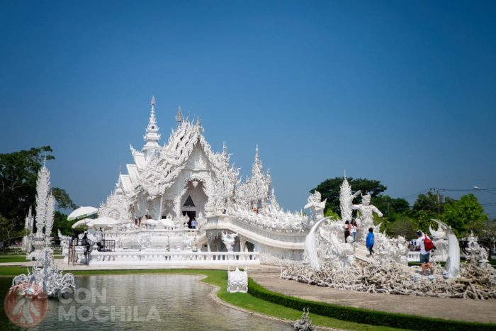 Vista general del Wat Rong Khun