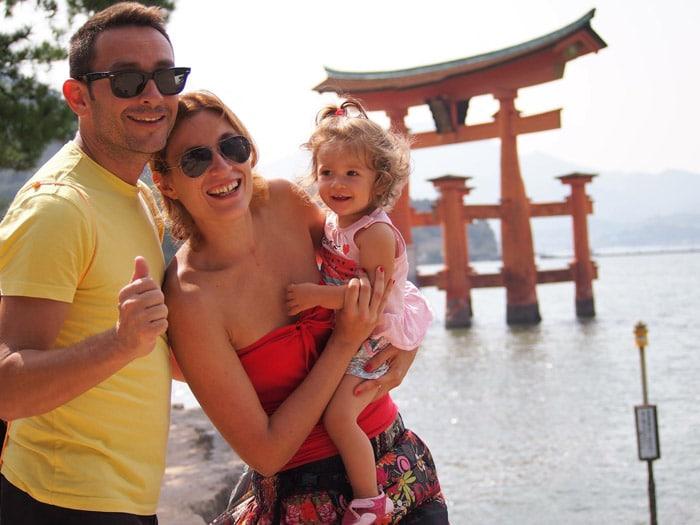 Itinerario de viaje a Japón: Visita a la Isla de Miyajima durante nuestra estancia en Kioto