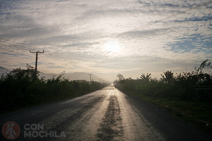 Empezamos la ruta en dirección Vientiane