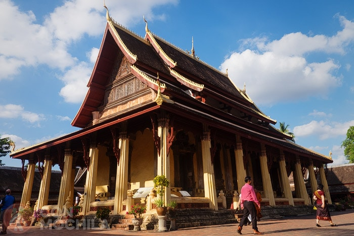 Bienvenidos a Vientiane