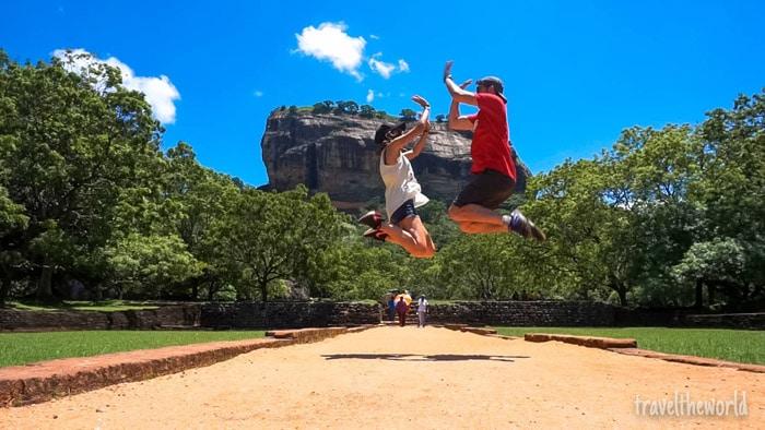 Itinerario de viaje a Sri Lanka: Lion Rock