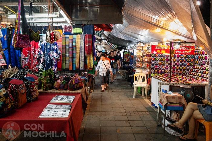 Night Bazar de Chiang Mai