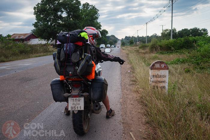 De camino a Savannakhet