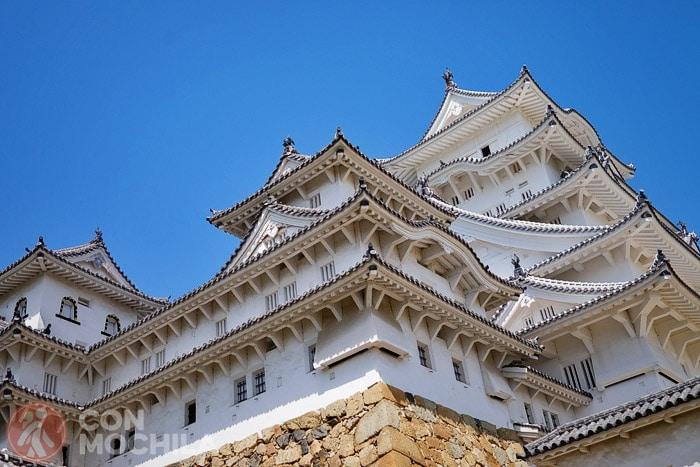 Detalle de las plantas superiores del castillo