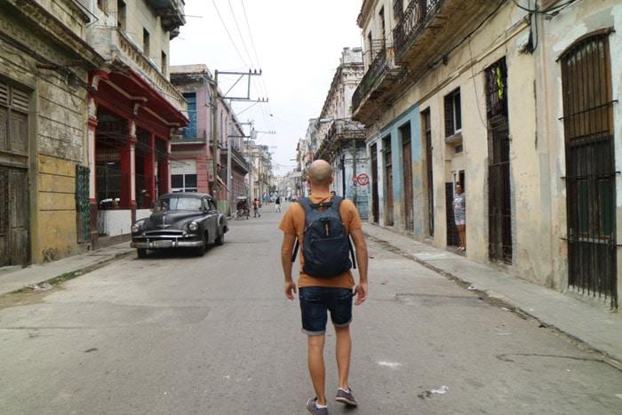 Itinerario de viaje a Cuba: Paseo por las calles de La Habana Vieja
