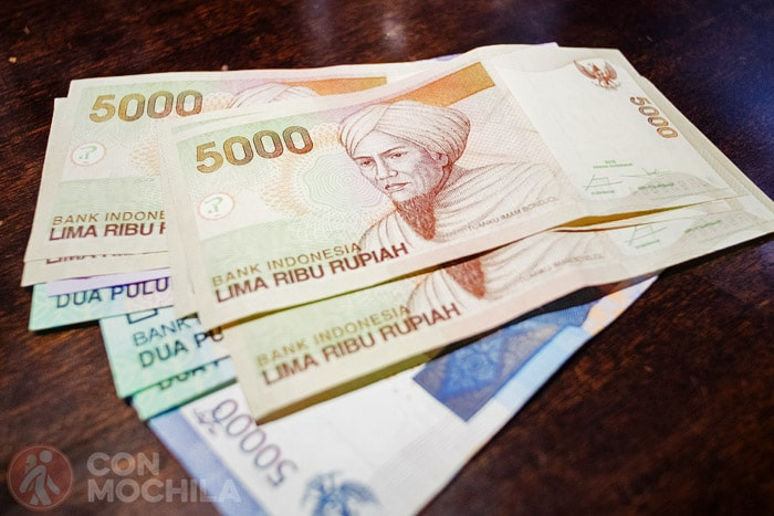 RUPIA indonesia, la moneda de Indonesia