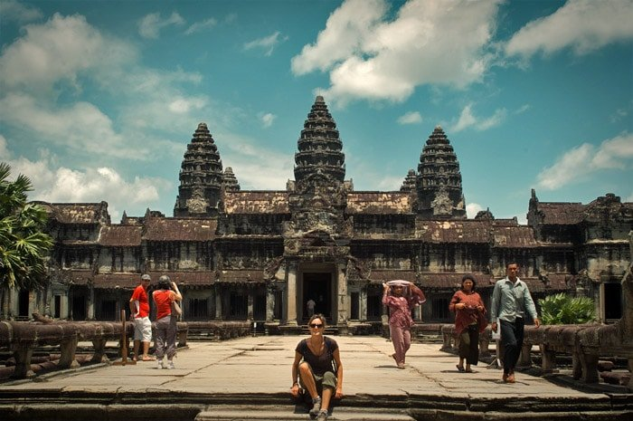 Templos de Angkor, Camboya