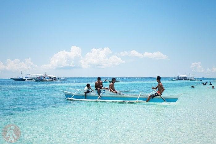 Malapascua, una isla de Filipinas