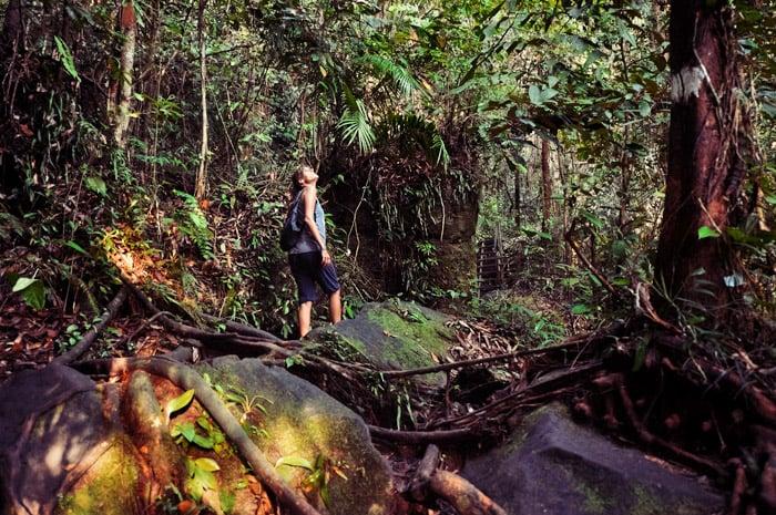 Parque Nacional de Bako, en Malasia