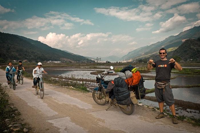 Recorriendo Vietnam en moto