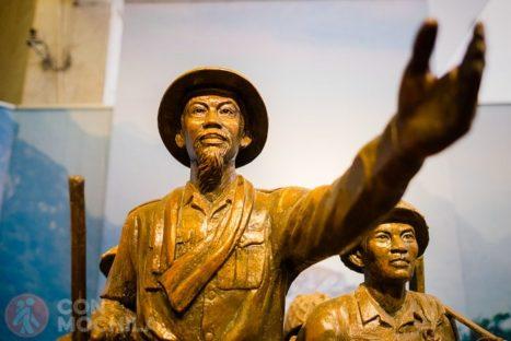 Estatua de Ho Chi Minh