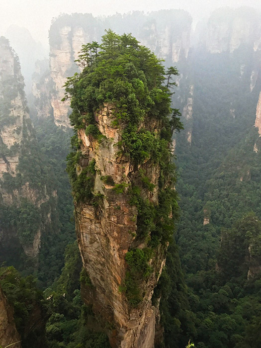 Itinerario de viaje a China: Montaña Aleluya de Avatar, Zhangjiajie