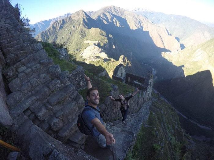 Itinerario de viaje a Perú: Subida al Huayna-Pcchu con vistas a Machu-Picchu
