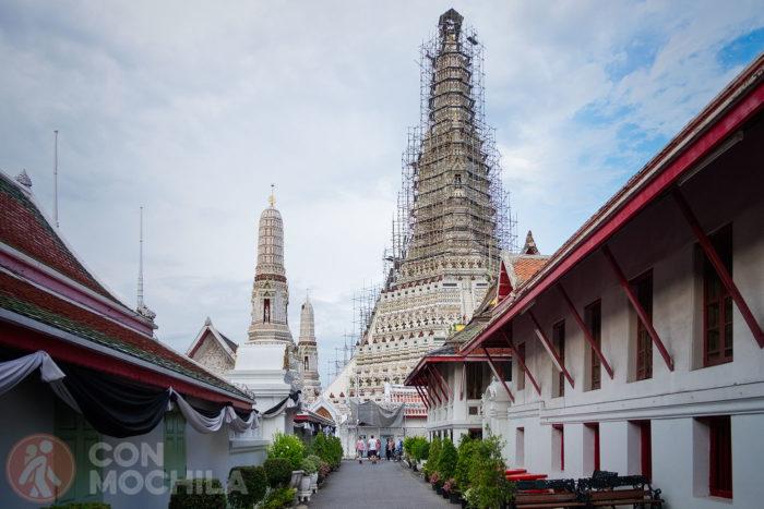 Wat Arun en obras de restauración