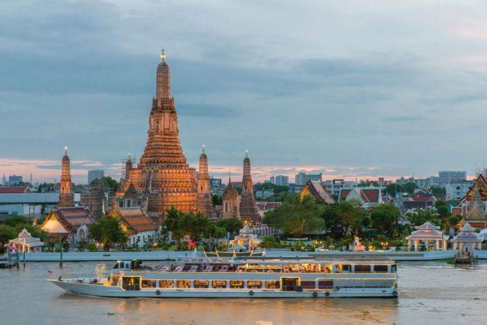 Wat Arun antes de las obras