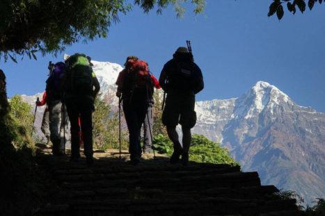 Ruta Santuario del Annapurna