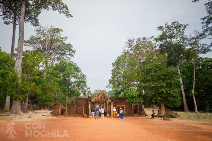 Entrada al Banteay Srei Temple