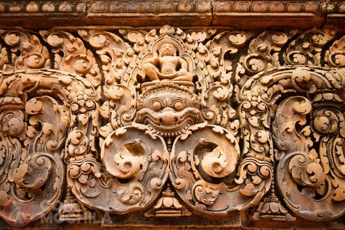 Otro relieve del Banteay Srei Temple