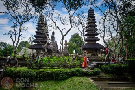 El templo Pura Taman Ayun de Bali