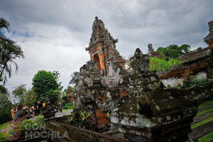 Portón de salida del templo