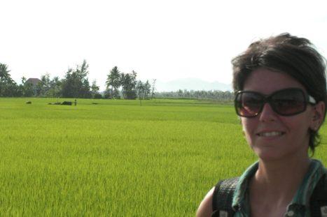 Itinerariode viaje a Vietnam. Bucólico paisaje a las afueras de Hoi An.