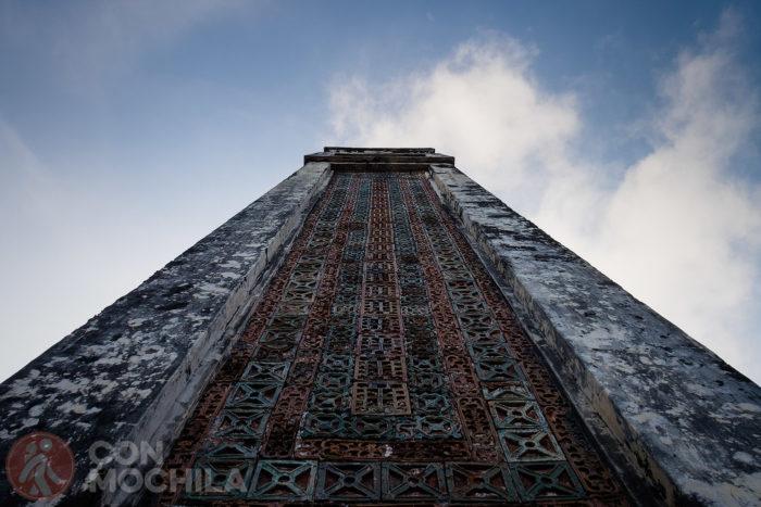 Uno de los obeliscos