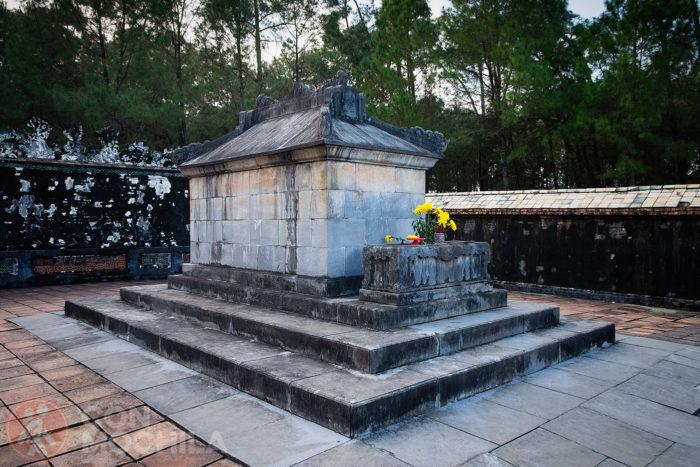 Otro detalle del sepulcro