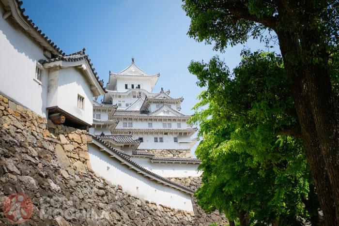 Otra vista del castillo de Himeji