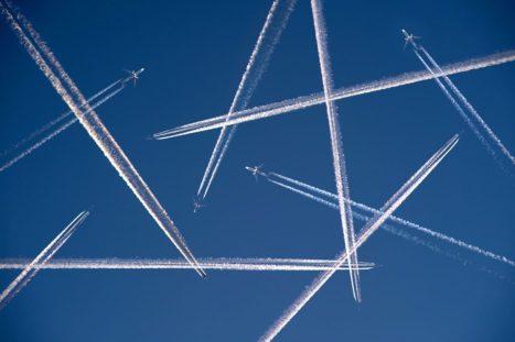 El CO2 y los aviones...