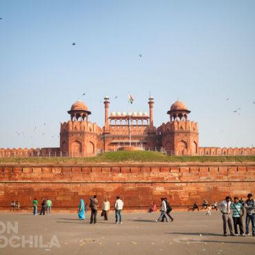 El fuerte rojo de Delhi