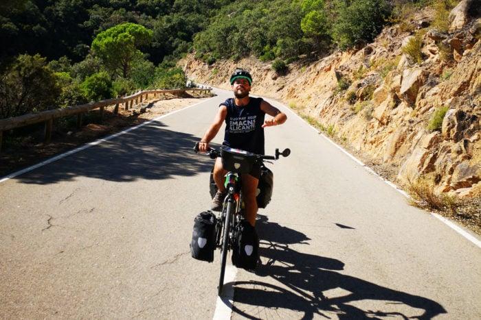 Rumbo a Sudáfrica en bici