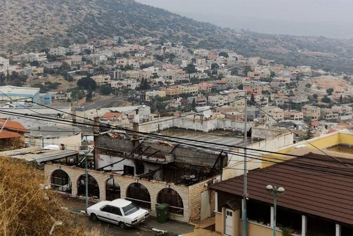 Pueblo palestino en el estado de Israel