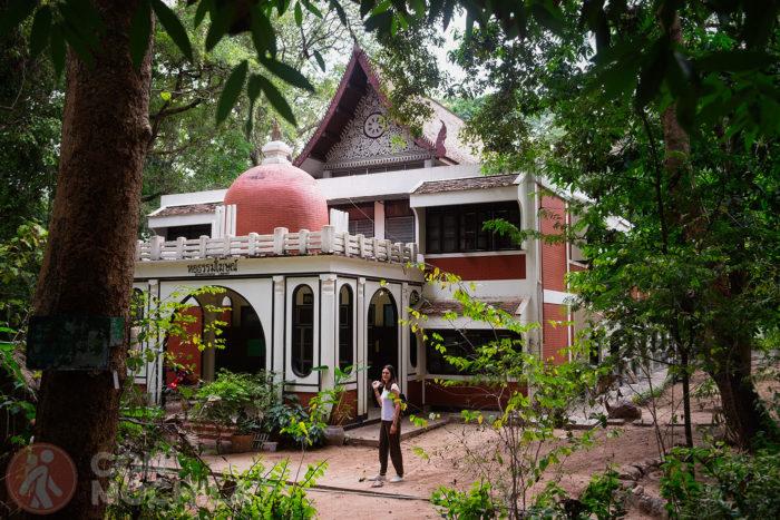 Uno de los edificios del recinto del Wat Umong
