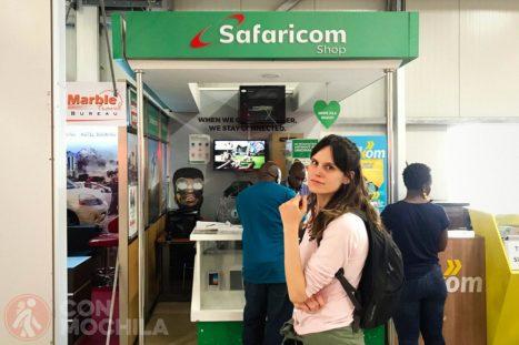 Sim con internet en Kenia con Safaricom