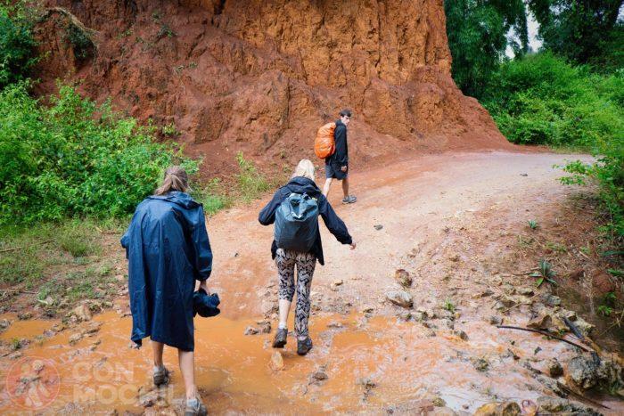 La jorobada del trekking de Kalaw
