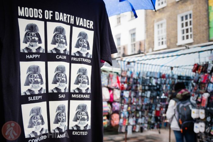 Moods of Darth Vader