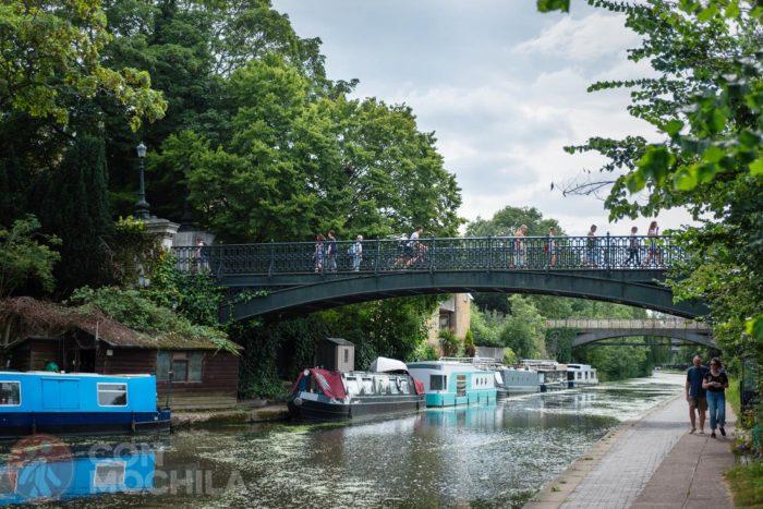 Puente de acceso a Regent's Park