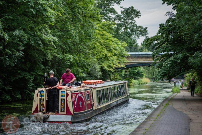 El barco de London Waterbus