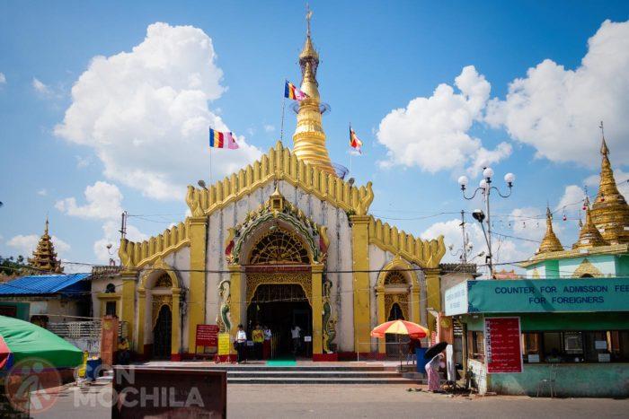 Entrada a la Botataung paya