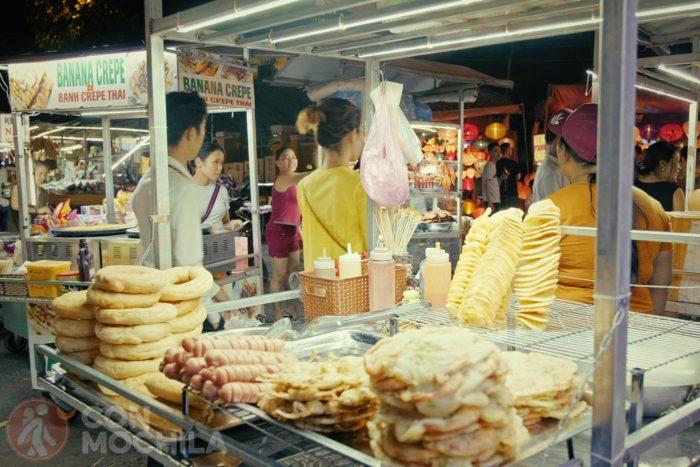 Nigh market de Hoi An