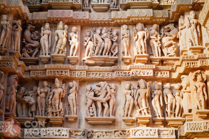 Sexo explícito en Khajuraho