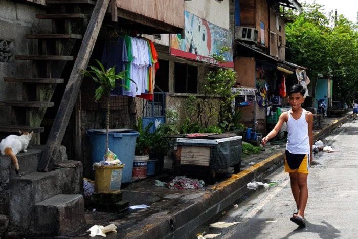 Barrio de Tejeros en Manila
