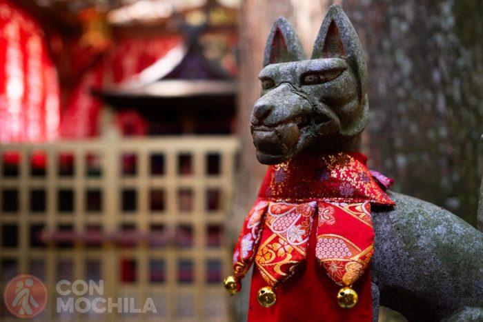 Detalle de uno de los templos de Koyasan