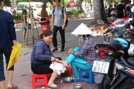 Calle Saigón Vietnam